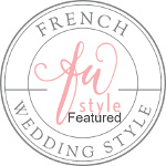 Featured on French Wedding Style